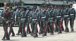 The-Lagos-funeral-for-late-Dim-Odumegwu-Ojukwu-held-at-the-Tafawa-Belewa-Square-Lagos.-Some-cadet-officers-in-a-match-past