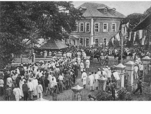 amalagamation meeting Lagos 1914