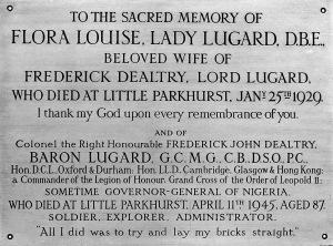 Luggard Memorial