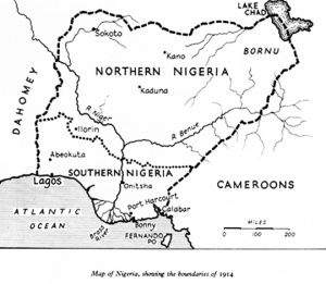 amalgamation of southern and northern nigeria