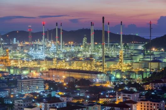 Thaioil refinery